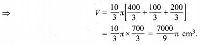 MP Board Class 10th Maths Solutions Chapter 13 पृष्ठीय क्षेत्रफल एवं आयतन Ex 13.4 10