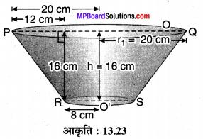 MP Board Class 10th Maths Solutions Chapter 13 पृष्ठीय क्षेत्रफल एवं आयतन Ex 13.4 5