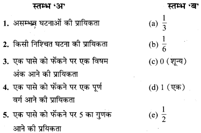 MP Board Class 10th Maths Solutions Chapter 15 प्रायिकता Additional Questions 81