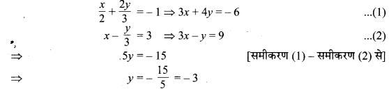 MP Board Class 10th Maths Solutions Chapter 3 दो चरों वाले रैखिक समीकरण युग्म Ex 3.4 23