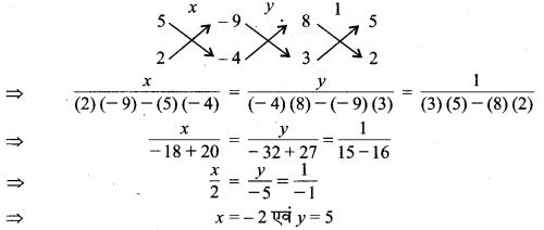 MP Board Class 10th Maths Solutions Chapter 3 दो चरों वाले रैखिक समीकरण युग्म Ex 3.5 10