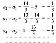 MP Board Class 10th Maths Solutions Chapter 5 समान्तर श्रेढ़ियाँ Additional Questions 7