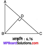 MP Board Class 10th Maths Solutions Chapter 6 त्रिभुज Additional Questions 10