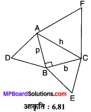 MP Board Class 10th Maths Solutions Chapter 6 त्रिभुज Additional Questions 19