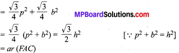 MP Board Class 10th Maths Solutions Chapter 6 त्रिभुज Additional Questions 20