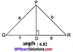 MP Board Class 10th Maths Solutions Chapter 6 त्रिभुज Additional Questions 21