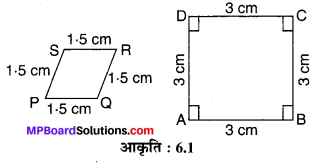 MP Board Class 10th Maths Solutions Chapter 6 त्रिभुज Ex 6.1 1