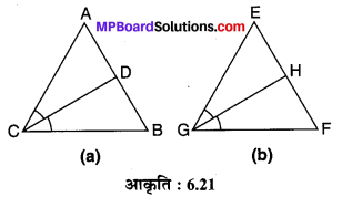 MP Board Class 10th Maths Solutions Chapter 6 त्रिभुज Ex 6.3 17