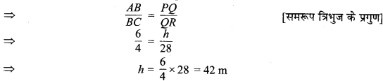MP Board Class 10th Maths Solutions Chapter 6 त्रिभुज Ex 6.3 25