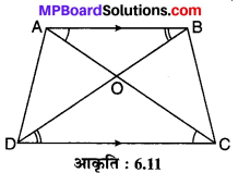 MP Board Class 10th Maths Solutions Chapter 6 त्रिभुज Ex 6.3 9