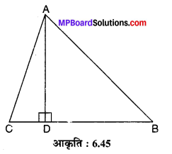 MP Board Class 10th Maths Solutions Chapter 6 त्रिभुज Ex 6.5 13