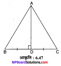 MP Board Class 10th Maths Solutions Chapter 6 त्रिभुज Ex 6.5 16