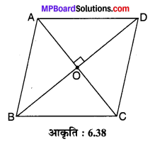 MP Board Class 10th Maths Solutions Chapter 6 त्रिभुज Ex 6.5 6