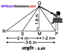 MP Board Class 10th Maths Solutions Chapter 6 त्रिभुज Ex 6.6 14