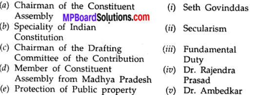 Mp Board Class 10th Social Science Chapter 12