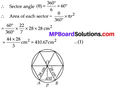 MP Board Class 10th Maths Solutions Chapter 12 Areas Related to Circles Ex 12.2 19