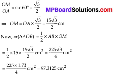 MP Board Class 10th Maths Solutions Chapter 12 Areas Related to Circles Ex 12.2 7