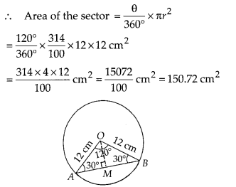 MP Board Class 10th Maths Solutions Chapter 12 Areas Related to Circles Ex 12.2 8