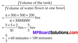 MP Board Class 10th Maths Solutions Chapter 13 Surface Areas and Volumes Ex 13.3 12