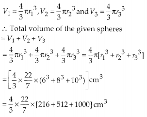 MP Board Class 10th Maths Solutions Chapter 13 Surface Areas and Volumes Ex 13.3 2
