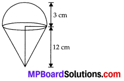 MP Board Class 10th Maths Solutions Chapter 13 Surface Areas and Volumes Ex 13.3 5