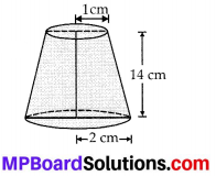 MP Board Class 10th Maths Solutions Chapter 13 Surface Areas and Volumes Ex 13.4 1