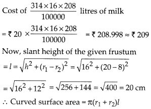 MP Board Class 10th Maths Solutions Chapter 13 Surface Areas and Volumes Ex 13.4 7