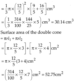 MP Board Class 10th Maths Solutions Chapter 13 Surface Areas and Volumes Ex 13.5 3