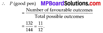 MP Board Class 10th Maths Solutions Chapter 15 Probability Ex 15.1 21