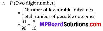 MP Board Class 10th Maths Solutions Chapter 15 Probability Ex 15.1 24
