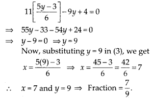 MP Board Class 10th Maths Solutions Chapter 3 Pair of Linear Equations in Two Variables Ex 3.3 12
