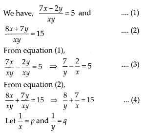 MP Board Class 10th Maths Solutions Chapter 3 Pair of Linear Equations in Two Variables Ex 3.6 11
