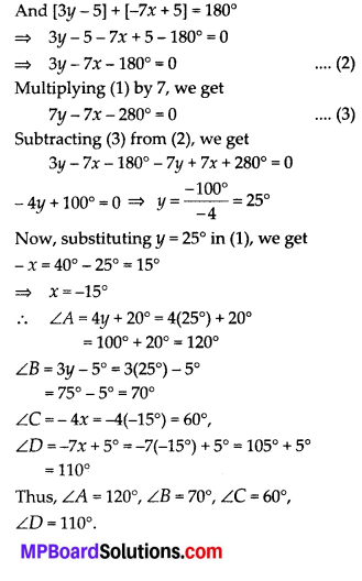 MP Board Class 10th Maths Solutions Chapter 3 Pair of Linear Equations in Two Variables Ex 3.7 16