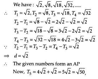 MP Board Class 10th Maths Solutions Chapter 5 Arithmetic Progressions Ex 5.1 15