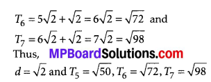 MP Board Class 10th Maths Solutions Chapter 5 Arithmetic Progressions Ex 5.1 16