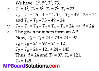 MP Board Class 10th Maths Solutions Chapter 5 Arithmetic Progressions Ex 5.1 19