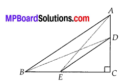 MP Board Class 10th Maths Solutions Chapter 6 Triangles Ex 6.5 19