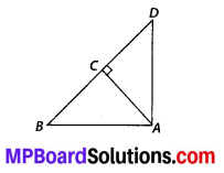 MP Board Class 10th Maths Solutions Chapter 6 Triangles Ex 6.5 2