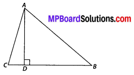 MP Board Class 10th Maths Solutions Chapter 6 Triangles Ex 6.5 20