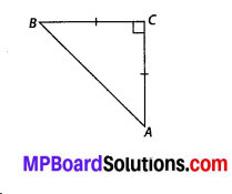 MP Board Class 10th Maths Solutions Chapter 6 Triangles Ex 6.5 6