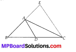 MP Board Class 10th Maths Solutions Chapter 6 Triangles Ex 6.6 23