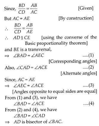 MP Board Class 10th Maths Solutions Chapter 6 Triangles Ex 6.6 24