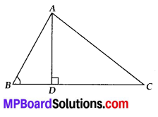 MP Board Class 10th Maths Solutions Chapter 6 Triangles Ex 6.6 9