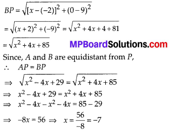 MP Board Class 10th Maths Solutions Chapter 7 Coordinate Geometry Ex 7.1 16