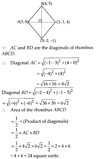 MP Board Class 10th Maths Solutions Chapter 7 Coordinate Geometry Ex 7.2 13