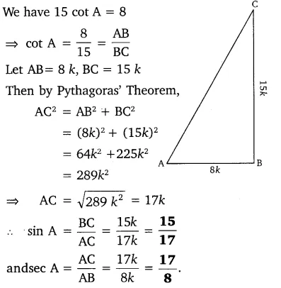 MP Board Class 10th Maths Solutions Chapter 8 Introduction to Trigonometry Ex 8.1 5