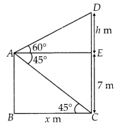 MP Board Class 10th Maths Solutions Chapter 9 Some Applications of Trigonometry Ex 9.1 17