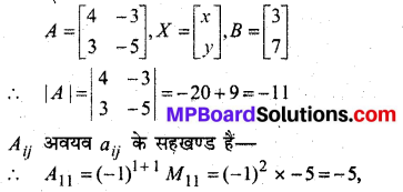 MP Board Class 12th Maths Book Solutions Chapter 4 सारणिक Ex 4.6 13