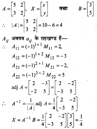 MP Board Class 12th Maths Book Solutions Chapter 4 सारणिक Ex 4.6 15
