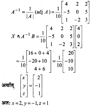 MP Board Class 12th Maths Book Solutions Chapter 4 सारणिक Ex 4.6 22